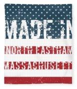 Made In North Eastham, Massachusetts Fleece Blanket
