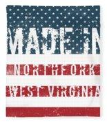 Made In Northfork, West Virginia Fleece Blanket