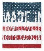 Made In Powellsville, North Carolina Fleece Blanket