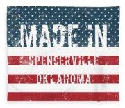Made In Spencerville, Oklahoma Fleece Blanket