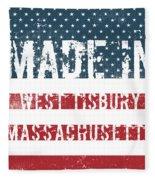 Made In West Tisbury, Massachusetts Fleece Blanket