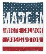 Made In White Salmon, Washington Fleece Blanket