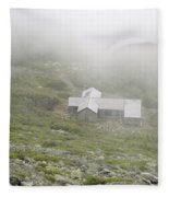 Madison Spring Hut - White Mountains New Hampshire  Fleece Blanket