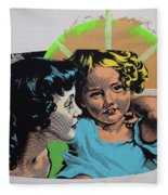 Madonna De Milo Fleece Blanket