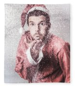Magic Of Christmas Fleece Blanket