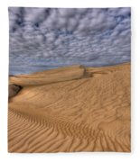 Magic Of The Dunes Fleece Blanket