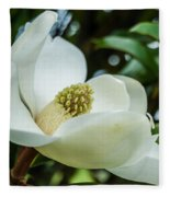 Magnolia Bloom IIi Fleece Blanket