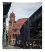 Main Street Station - Richmond Va Fleece Blanket
