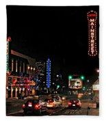 Main Street  Fleece Blanket