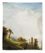 Majesty Of The Mountains Fleece Blanket