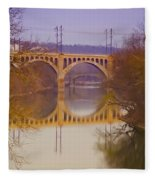 Manayunk Bridge Fleece Blanket