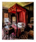 Mansion Bedroom Fleece Blanket