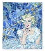 Marilyn Monroe, Old Hollywood Series Fleece Blanket