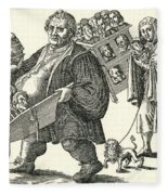 Martin Luther (1483-1546) Fleece Blanket