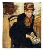Mary Cassatt  Fleece Blanket