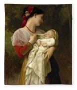 Maternal Admiration Fleece Blanket