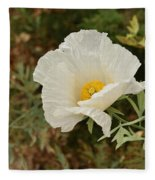 Matilija Poppy I Fleece Blanket
