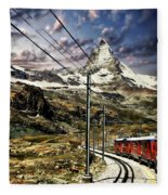 Matterhorn Panorama Fleece Blanket