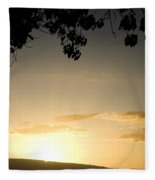 Maui Gold Fleece Blanket