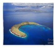 Maui, View Of Islands Fleece Blanket