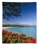 Mauna Kea Beach Fleece Blanket