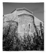 Medieval Abbey - Fossacesia - Italy 6 Fleece Blanket