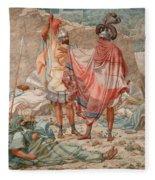 Mercy - David Spareth Saul's Life Fleece Blanket