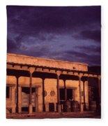 Mexican Cantina Rio Lobo Set Old Tucson Arizona 1970-1980 Fleece Blanket