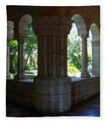Miami Monastery Fleece Blanket