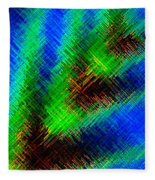 Micro Linear 7 Fleece Blanket