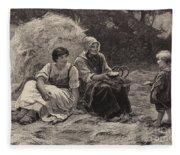 Midday Rest Fleece Blanket