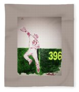 Mike Trout Fleece Blanket
