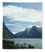 Milford Sound Fleece Blanket