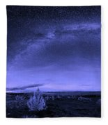 Milky Way Heaven Fleece Blanket