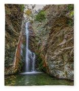Millomeris Waterfall - Cyprus Fleece Blanket