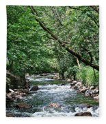 Minnehaha Creek Fleece Blanket