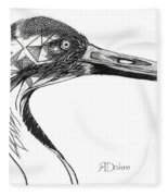 Miracle Bird Fleece Blanket