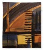 Modern Architecture 1 Fleece Blanket