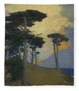 Monterey Cypress Fleece Blanket