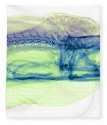 Moray Eel, Gymnothorax Funebris, X-ray Fleece Blanket