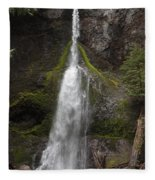 Mossy Waterfall Fleece Blanket