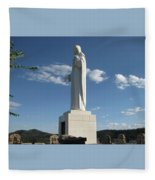 Mother Cabrini Shrine Fleece Blanket