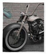 Motorcycle Fleece Blanket
