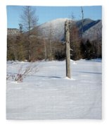 Mount Carrigain - White Mountains New Hampshire Usa Fleece Blanket