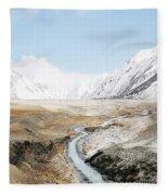 Mount Everest Fleece Blanket by Setsiri Silapasuwanchai