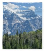 Mount Robson Fleece Blanket