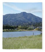 Mount Tamalpais Fleece Blanket