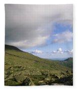 Mount Washington New Hampshire Usa Fleece Blanket
