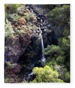 Mountain Cascade Fleece Blanket