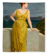 Mrs Kettlewell Fleece Blanket